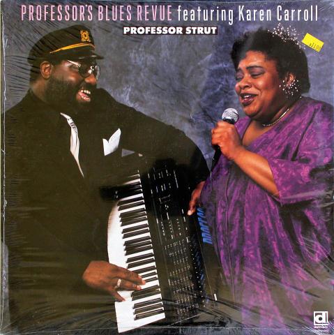 "Professor's Blues Revue Featruing Karen Carroll Vinyl 12"""