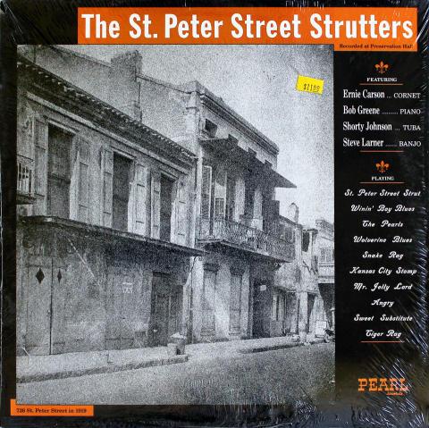 "The St. Peter Street Strutters Vinyl 12"""