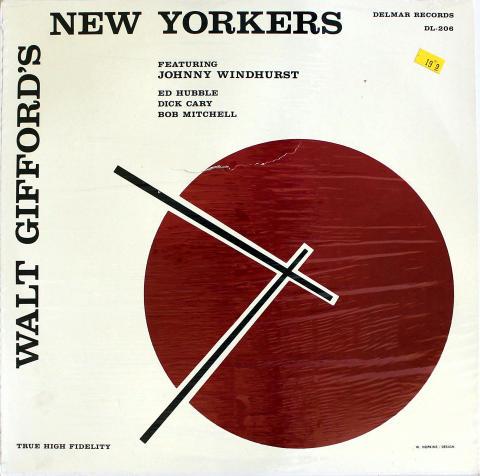 "Walt Gifford's New Yorkers Vinyl 12"""