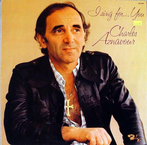 """Charles Aznavour Vinyl 12"""""""