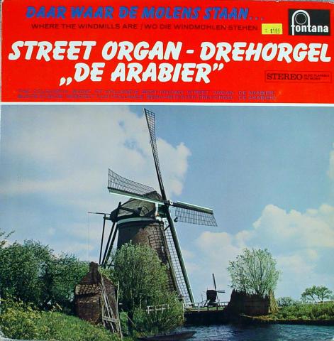 """Drehorgel """"De Arabier"""" Vinyl 12"""""""