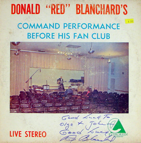 "Donald ""Red"" Blanchard's Vinyl 12"""