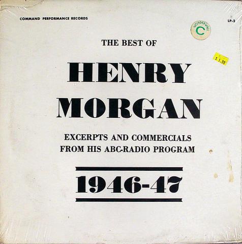 """Henry Morgan Vinyl 12"""""""