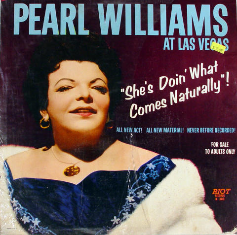 "Pearl Williams Vinyl 12"""