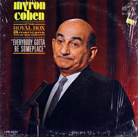 """Byron Cohen Vinyl 12"""""""