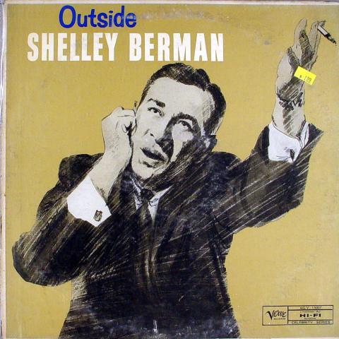 """Shelley Berman Vinyl 12"""""""