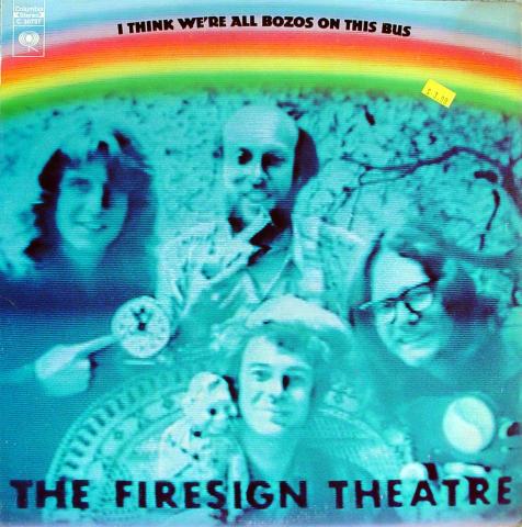"The Firesign Theatre Vinyl 12"""