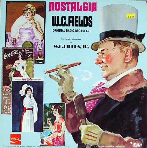 """W.C. Fields Vinyl 12"""""""