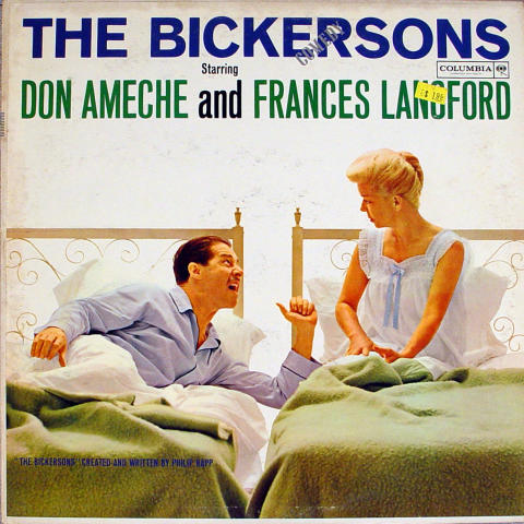 "Don Ameche and Frances Langford Vinyl 12"""