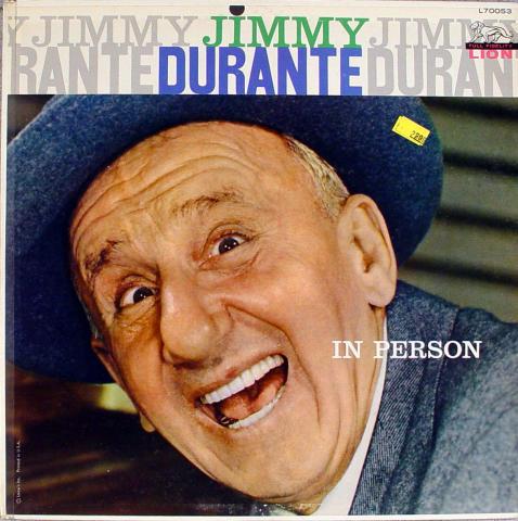 "Jimmy Durante Vinyl 12"""