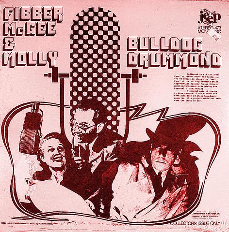 "Fibber McGee & Molly Vinyl 12"""