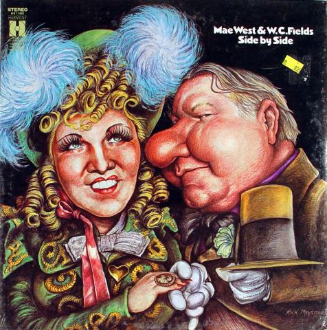 """Mae West & W.C. Fields Vinyl 12"""""""