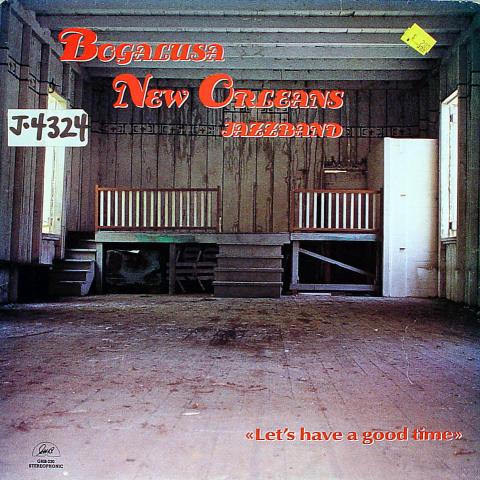 "Bogalusa New Orleans Jazzband Vinyl 12"""
