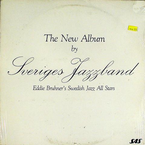"Eddie Bruhner's Swedish Jazz All Stars Vinyl 12"""