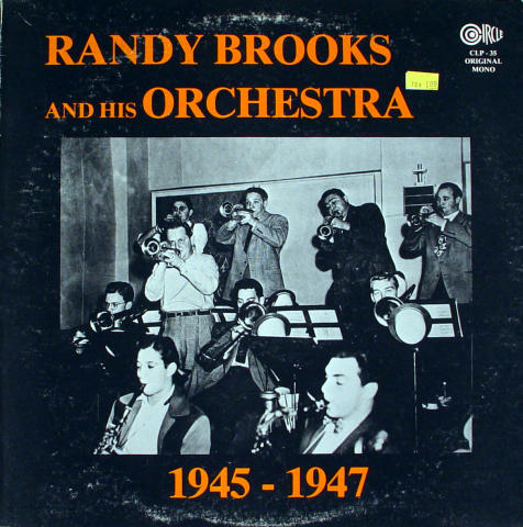 Randy Brooks And His Orchestra Vinyl 12""