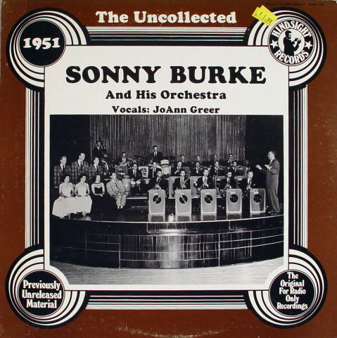 """Sonny Burke And His Orchestra Vinyl 12"""" (Used)"""
