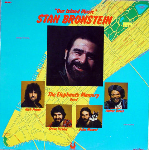 """Stan Bronstein And The Elephant's Memory Band Vinyl 12"""" (Used)"""