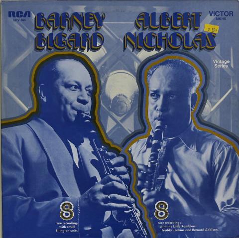 "Barney Bigard / Albert Nicholas Vinyl 12"""