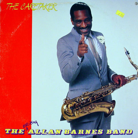 """The Exciting Allan Barnes Band Vinyl 12"""""""