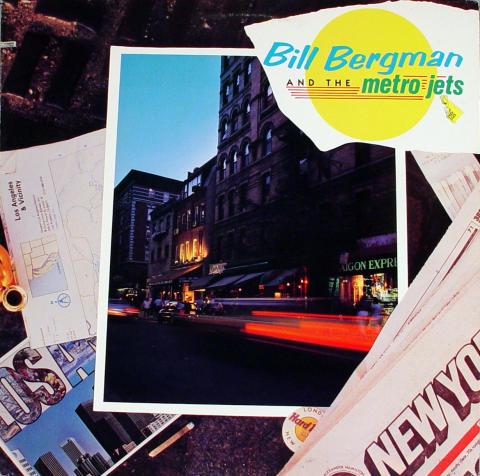 "Bill Bergman And The Metro Jets Vinyl 12"""