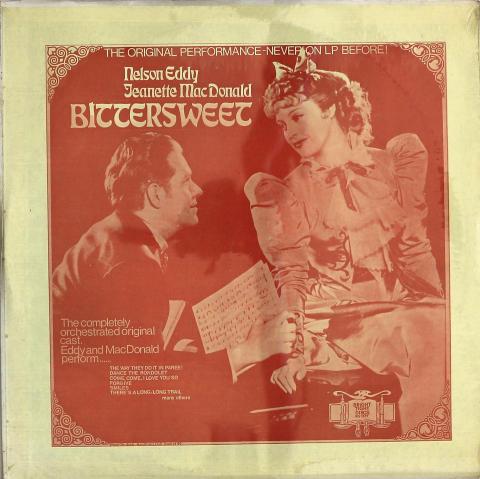 "Nelson Eddy / Jeanette MacDonald Vinyl 12"""