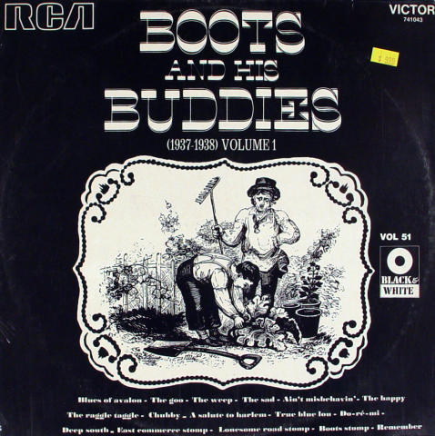"""Boots And His Buddies Vinyl 12"""""""