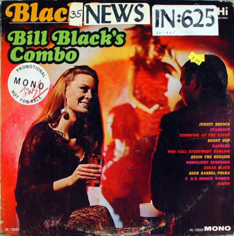"Bill Black's Combo Vinyl 12"""
