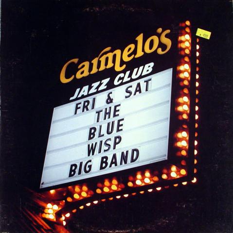 "The Blue Wisp Big Band Vinyl 12"""