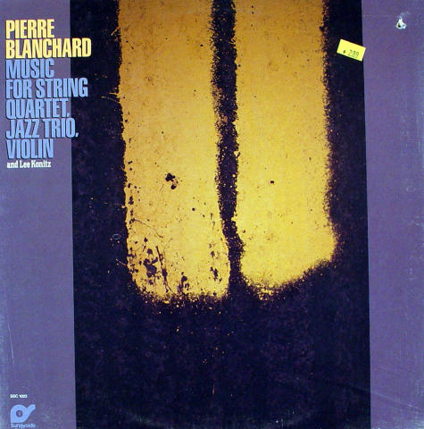 "Pierre Blanchard Vinyl 12"""