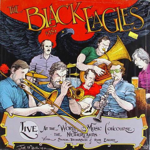 "The Black Eagles Vinyl 12"" (New)"