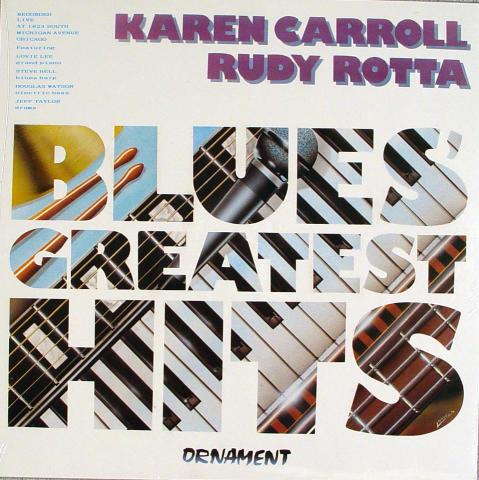 """Karen Carroll / Rudy Rotta Vinyl 12"""""""