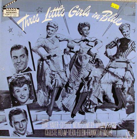 """Three Little Girls In Blue Vinyl 12"""""""