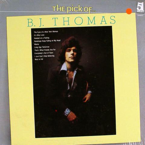 "B.J. Thomas Vinyl 12"""