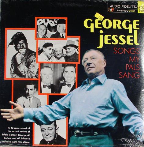 "George Jessel Vinyl 12"""