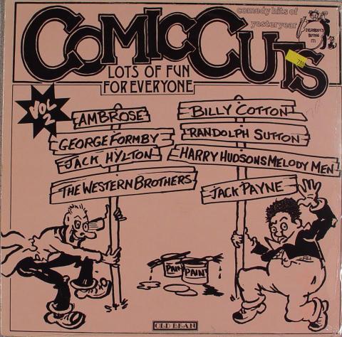 """Comic Cuts Vol. 2 Vinyl 12"""""""