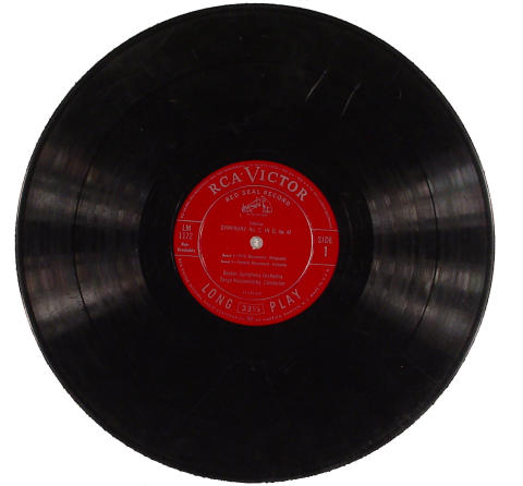 "Boston Symphony Orchestra Vinyl 12"""
