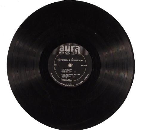 "Billy Larkin & The Delegates Vinyl 12"""