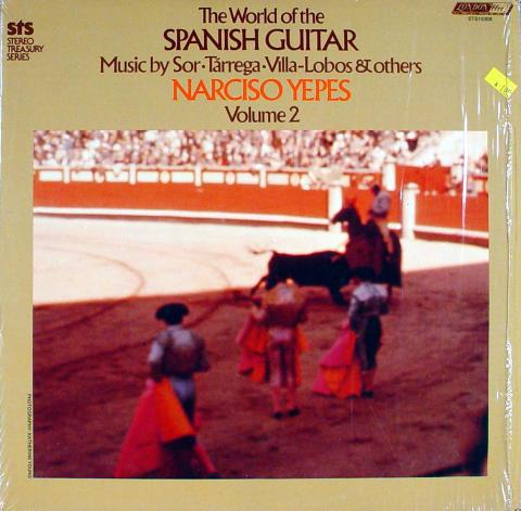 "Narciso Yepes Vinyl 12"""