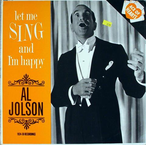 "Al Jolson Vinyl 12"""