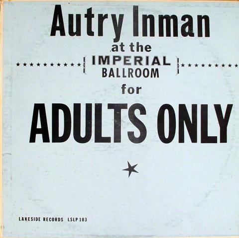 "Autry Inman Vinyl 12"""