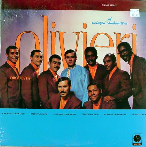 """Orquesta Olivieri Vinyl 12"""""""