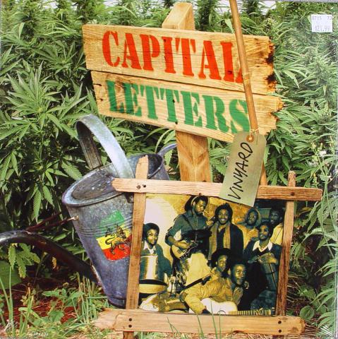 "Capital Letters Vinyl 12"""