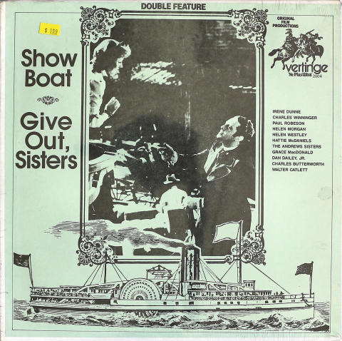 """Show Boat / Give It Out, Sisters Vinyl 12"""" (New)"""