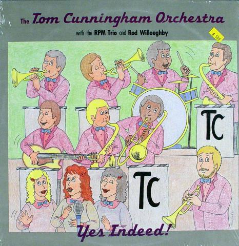 "The Tom Cunningham Orchestra Vinyl 12"""