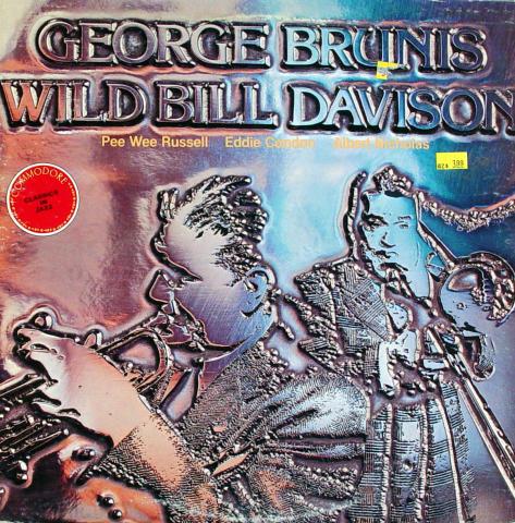 """George Brunis / Wild Bill Davison Vinyl 12"""""""