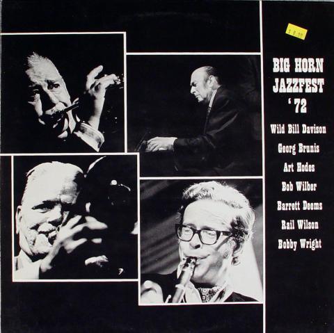 "Big Horn Jazzfest '73 Vinyl 12"""