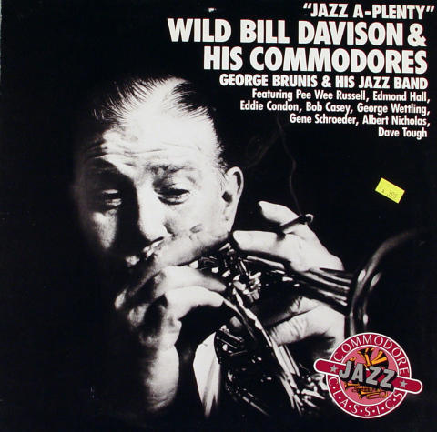 Wild Bill Davison & His Commodores Vinyl 12""