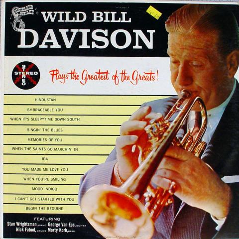 "Wild Bill Davison Vinyl 12"""