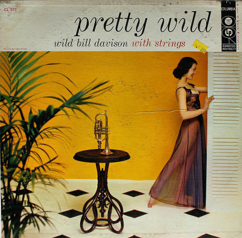 "Wild Bill Davison With Strings Vinyl 12"""