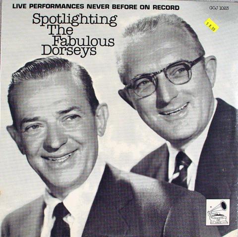 "Spotlighting The Fabulous Dorseys Vinyl 12"""